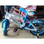 Bicicleta Rin 12 Para Niños Azul Ben 10