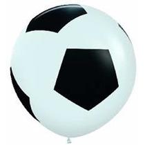 Super Piñata Pelota De Futbol. Gigante! 90 Cms!