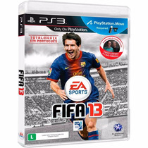 Game Original Fifa 13 Ps3 Seminovo 2013 Jogo