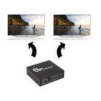 Spliter Hdmi 1 Entrada 2 Salidas + New + Originales
