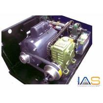 Kit Motor Con Reductor Industrial 2000 Kg. Alto Trafico.