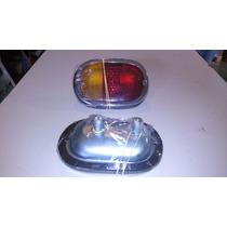 Lanterna Traseira Kombi Até 75 - Antiga - Completa - Par