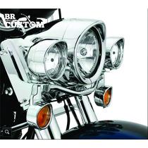 Aro Alongador Farol De Milha Harley-davidson 69732-05/hd/old