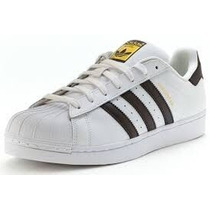 Adidas Superstar Zapatillas Negro Y Dorado Originales