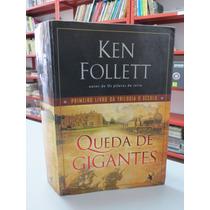Livro Queda De Gigantes Ken Follett 1º Vol Trilogia O Século