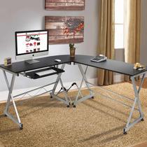 Escritorio L Oficina Computadora Mesa Trabajo Habitación
