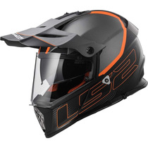 Capacete Ls2 Pioneer Mx436 Element - Cross Com Viseira
