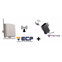 Kit Receptor Multifuncional Ecp 2 Canais 70m 433mhz + Fonte