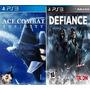 Defiance + Ace Combat Psn Ps3 Menor Preço Ml