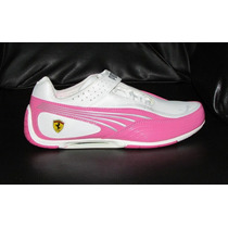 Zapatos Puma Ferrari Para Damas Tallas 36 A La 40