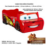 Camas Para Niños Pequeños Modelo Cars 1,70 X 0,80 Cm