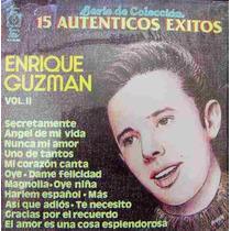Rock Mexicano.enrique Guzman, Vol. 2, Lp 12´,mdn