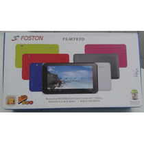 Tablet Foston 7¨ Android 4.2 8gb Memória Interna E Dual Core