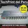 Amplificador X 8 Salidas Para Cable Magico