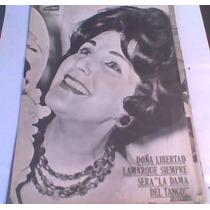Poster De Libertad Lamarque