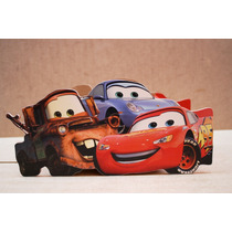 Centro De Mesa De Personajes De Cars Para Fiestas Infantiles