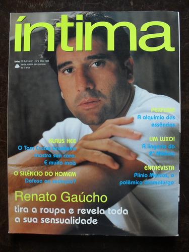G Magazine Revista Íntima Nº 2 - Renato Gaúcho - Maio/1999