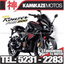 Bajaj Rouser Rs200 - Tomo Moto - Financ - Consulta Contado!!