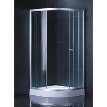 Cabina Baño Cristal Templado Cancel Aluminio Ts623sb