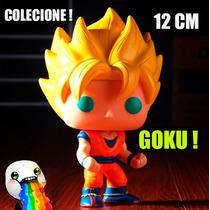 Dragon Ball Z Goku Boneco Pop Colecione 12cm Pronta Entrega