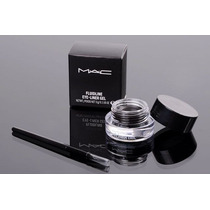 Delineador Mac Gel Fluidline Eye Liner + Pincel