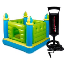 Castillo Inflable Intex Pelotero 132 X 132 + Inflador Manual
