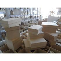 Cajas Fibrofacil Con Tapa Zapato 20x20x20 X 10 Un.