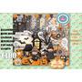 Kit Imprimible Imagenes Halloween Noche De Brujas Fantasmas