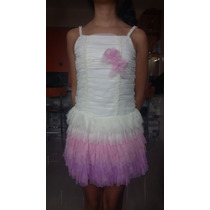 Vestido Para Niña Formal Usado Una Vez Talla 10