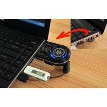 Ventilador Aspirador Enfriador Portatil Laptop Usb Sony Acer
