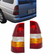 Par Lanterna Traseira Escort Zetec Sw Perua 97 98 99 A 2003