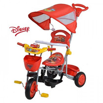 Triciclo Cars,mickey,minnie Infantil Bebe Distrimicabebe