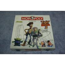 Juego De Monopolio Infantil Original, Toy Story 3, Completo
