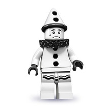 Lego 71001 Minifigure Serie 10 Payaso Triste !!!! Vmj