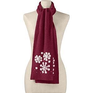 bufandas bordadas para navidad idd