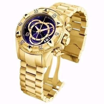 9b4b0f91752 Relógio Luxo Semelhante Inv Cor Ouro E Prata Frete Grátis - R  149