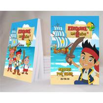 Jake Y Los Piratas Souvenir Anotador Personalizado X32!!!