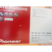 Equipo Pioner Modelo Avh-p3460dvd Y 2 Juegos De Cornetas