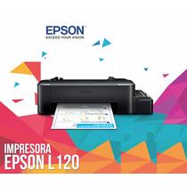 Impresora Epson L120 Sistema Tinta Continua Original Fabrica