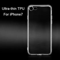 Funda Case Flexible Transparente Iphone 7 7 Plus + Regalo