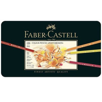 Lápis De Cor Polychromos Com 120 Cores Faber Castell