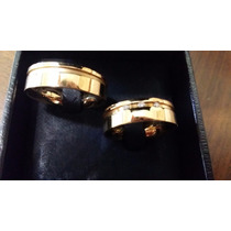 Par De Alianças Vivara Ouro 18k 3 Pontos De Diamante