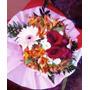 Regalo Día De Los Enamorados Ramo Rosa Roja Arreglo Floral