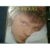 Disco Acetato L.p De Luis Miguel