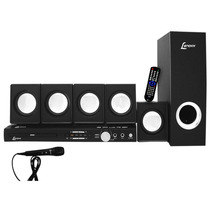 Home Theater 5.1 270w Rms Lenoxx Com Dvd, Usb - Ht-723
