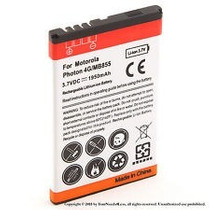 Bateria Pila Motorola Photon 4g Mb855 Generica Nueva