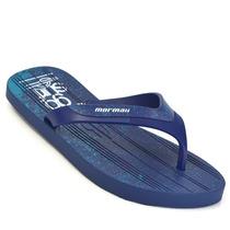 Sandália Masculina Mormaii 11060 N23 Azul Elza Calçados