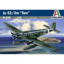 Avion Italeri P/armar Ju 52/3m See 1/72 Kit 1339
