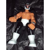 Figura Luchador Mexicano Mascara Año 2000 Muñeco Patones