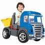 Caminhão Pedal Truck Azul 9310 - Magic Toys